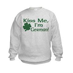 Kiss Me I'm German Sweatshirt