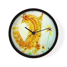 Dancing Cat Wall Clock