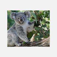 Cute koala  Throw Blanket