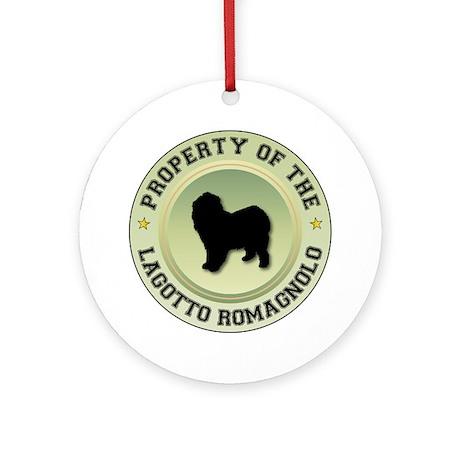 Lagotto Property Ornament (Round)