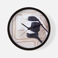 Overloaded plug socket Wall Clock
