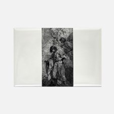 Jeremiah - Benjamin West - c1780 Magnets