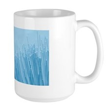 Optical fibres Mug