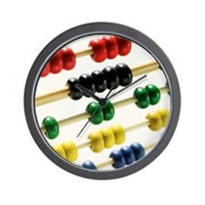 Close-up of an abacus Wall Clock