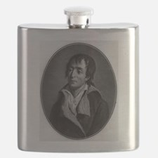 Jean Paul Marat - Pierre-Michel Alix - 1793 Flask