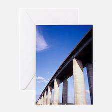 Orwell Bridge Greeting Card