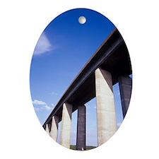 Orwell Bridge Oval Ornament