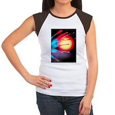 Optical fibres Women's Cap Sleeve T-Shirt