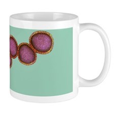 Cluster of influenza viruses Mug