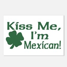 Kiss Me I'm Mexican Postcards (Package of 8)
