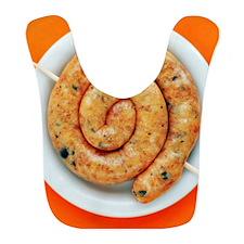 Coiled sausage Bib