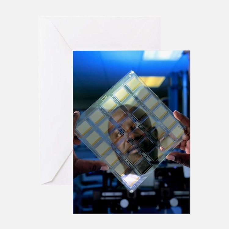 Organic light emitting diode Greeting Card