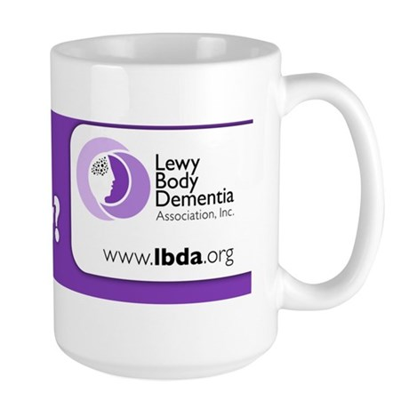 LBDA Bumper Sticker Large Mug