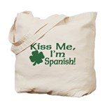 Kiss Me I'm Spanish Tote Bag