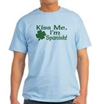 Kiss Me I'm Spanish Light T-Shirt