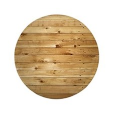 "Wood Fence 3.5"" Button"