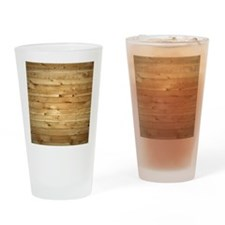 Wood Fence Drinking Glass