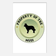 Mudi Property Postcards (Package of 8)