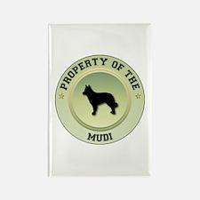 Mudi Property Rectangle Magnet (100 pack)