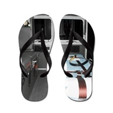 Interiors of an ambulance Flip Flops