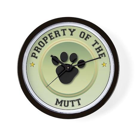 Mutt Property Wall Clock