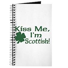 Kiss Me I'm Scottish Journal