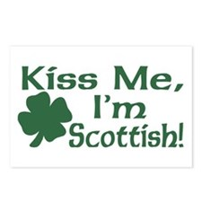 Kiss Me I'm Scottish Postcards (Package of 8)