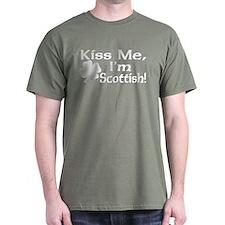 Kiss Me I'm Scottish T-Shirt