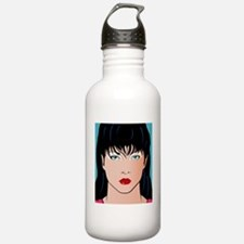 Pop Art Illustration o Water Bottle