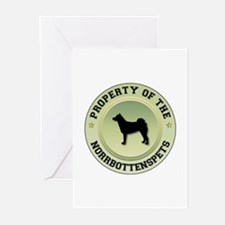 Norrbottenspets Property Greeting Cards (Package o