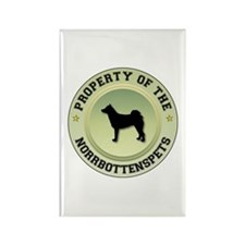 Norrbottenspets Property Rectangle Magnet