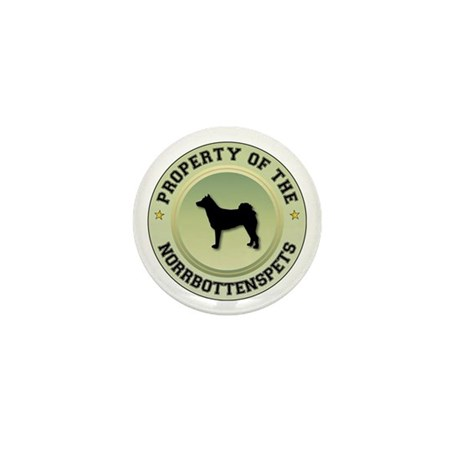 Norrbottenspets Property Mini Button