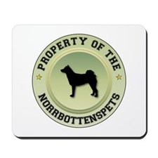 Norrbottenspets Property Mousepad