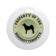 Norrbottenspets Property Ornament (Round)