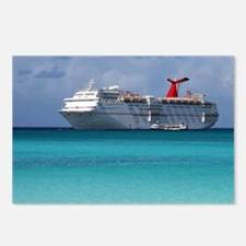 Carnival Ecstasy Postcards (Package of 8)