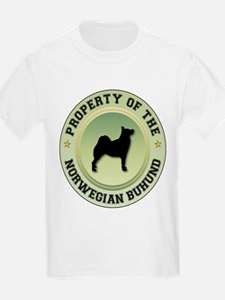 Buhund Property Kids T-Shirt