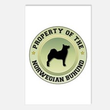 Buhund Property Postcards (Package of 8)