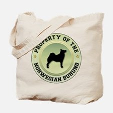 Buhund Property Tote Bag