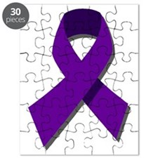 Purple Ribbon Puzzle