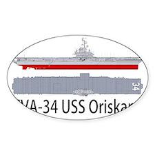 USS Oriskany CV-34 Decal