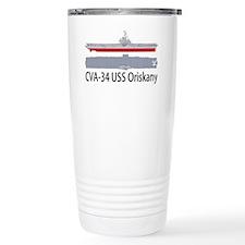 USS Oriskany CV-34 Travel Mug