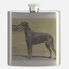 Manchester Terrier 9R032D-094 Flask