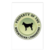 Lundehund Property Postcards (Package of 8)