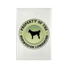 Lundehund Property Rectangle Magnet (100 pack)