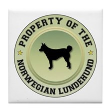 Lundehund Property Tile Coaster