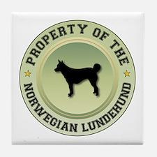 Lundehund Property Tile Coaster
