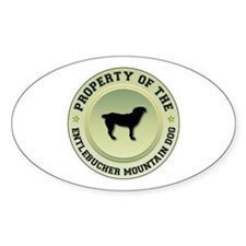 Entlebucher Property Oval Decal