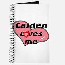 caiden loves me Journal