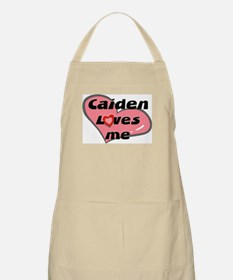 caiden loves me  BBQ Apron
