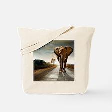 Big Elephant Tote Bag